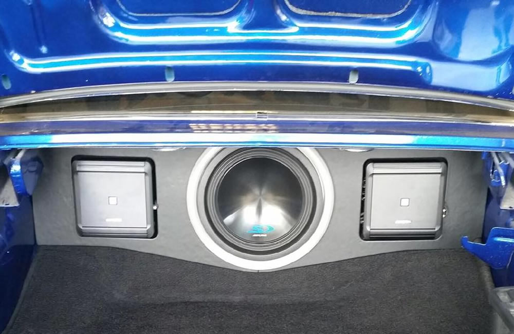 Custom fabrication by Elite Audio Spartanburg SC