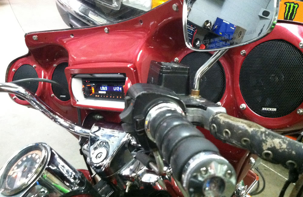Motorcycle Audio and Lighting by Elite Audio Spartanburg SC